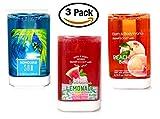 Bath and Body Works Smart Soap Refills - SmartSoap Summer Favorites Trio ( Watermelon Lemonade + Honolulu Sun + Peach Bellini ) THREE Foaming SmartSoap Hand Soap Dispenser Refills (8.75 fl oz each)