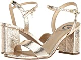 G by GUESS Women's Destin Gold Crackle 10 M US