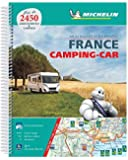 France Camping Car Atlas A4 spiral atlas: Tourist & Motoring Atlas A4 spiral (Michelin Road Atlases)