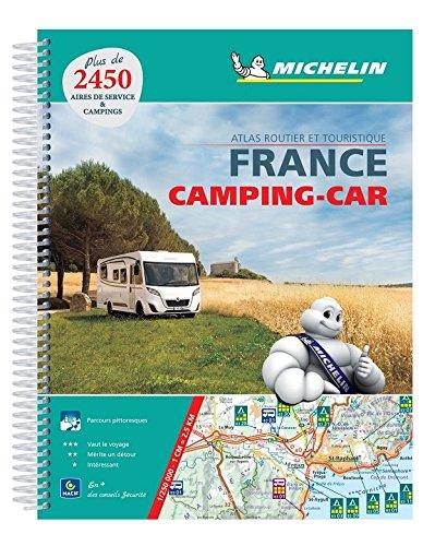 Atlas Routier Camping-Car France Michelin (Anglais) Couverture à spirales – 10 février 2018 2067227947 Karten / Stadtpläne TRAVEL / Europe / France Gazetteers & Maps)
