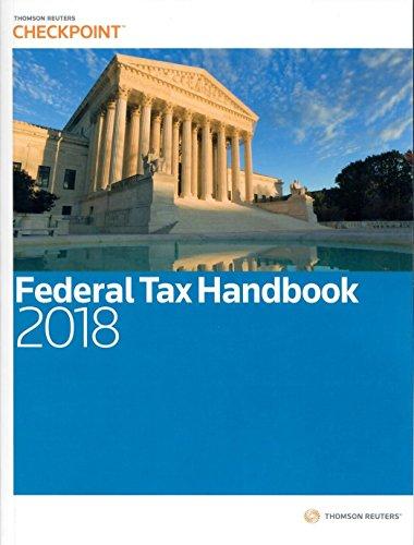 Ria Federal Tax Handbook 2018