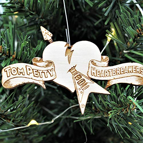 Petty Hearts Christmas Ornament | Heartbreakers Rear View Mirror Hanging | Petty Hearts Holiday Tree Decoration Gift