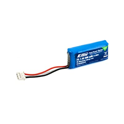 E-flite 7.4V 200mAh 2S 30C LiPo Battery: PH, EFLB2002S30: Toys & Games
