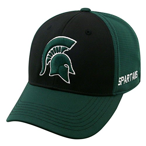 Top of the World NCAA-Dynamic-One-Fit-Memory Fit-Hat Cap-L/XL-Michigan State Spartans