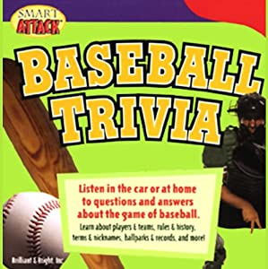 Smart Attack Baseball Trivia Audiobook