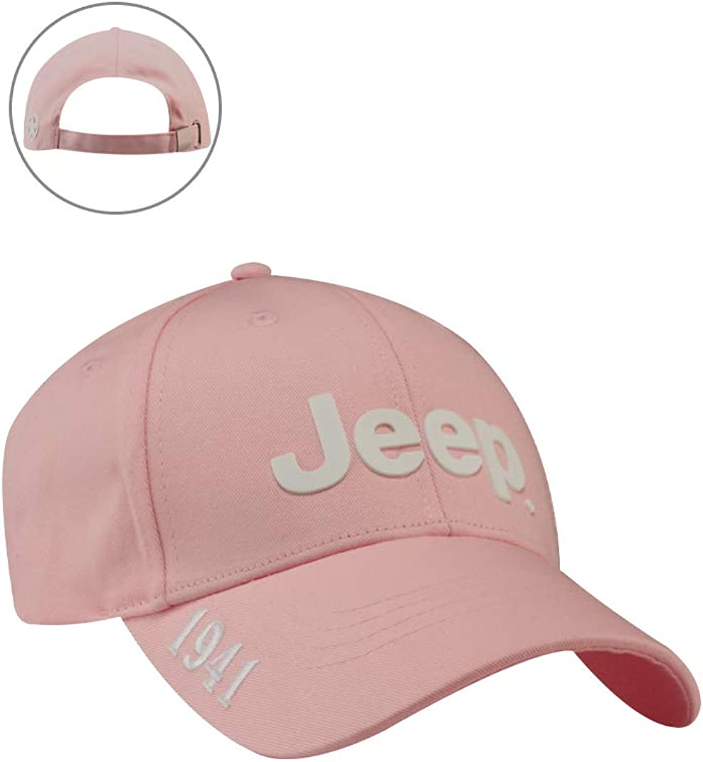 Jeep Womens Pink Cap