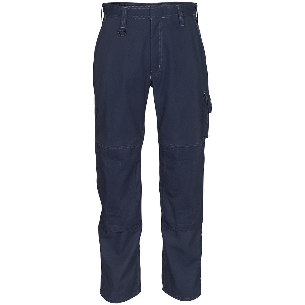 Mascot 10579-442-010-82C47''Pittsburgh'' Safety Trousers, Black-Blue, L82cm/C47