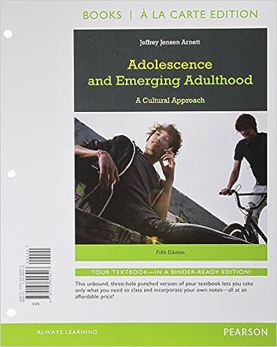 Amazon adolescence and emerging adulthood books a la carte amazon adolescence and emerging adulthood books a la carte edition 5th edition 9780205899517 jeffrey jensen arnett books fandeluxe Images