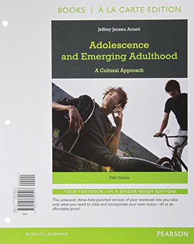 Adolescence+Emerging Adulthood (Loose)