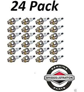 24 Pack Genuine Briggs & Stratton 796112 Spark Plug Fits Champion J19LM RJ19LM __#powered_by_moyer