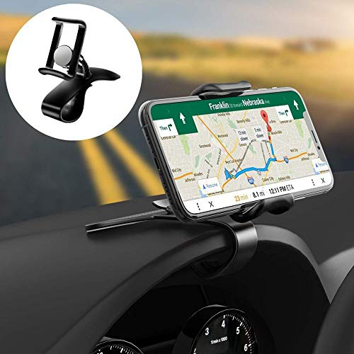 Car Phone Mount 2in1, ZAHIUS Rotating Dashboard/Air Vent Cell Phone Holder Stand[Cell Phone Universal]