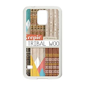 Aztec Wood ZLB604861 Personalized Phone Case for SamSung Galaxy S5 I9600, SamSung Galaxy S5 I9600 Case