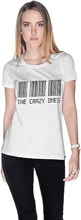Creo Cotton Round Neck T-Shirt For Women