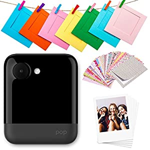 "Polaroid POP 2.0 – 20MP Instant Print Digital Camera w/3.97"" Touchscreen Display, Built-in Wi-Fi, 1080p HD Video, Zink Zero Ink Technology App – Prints 3.5"" x 4.25"" Classic Border Photos."