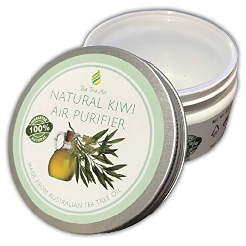 Tea Tree Air Purifier NATURAL KIWI ✔ Natural Purifier Cream, Attacks Mold/Mildew, Air Freshener, Air Conditioner ~ Perfect for kitchen, bathroom, office or boat! $27.88 ✔ (8.8 oz)