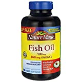 Nature Made Fish Oil Omega-3 1200mg, (180 Liquid Soft Gels) Review