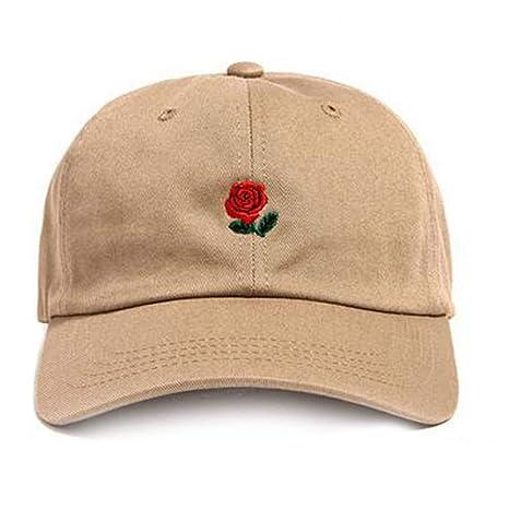 HUOLIMAO Gorras De Béisbol Bordado De Rosas Hombres Mujeres Moda ...
