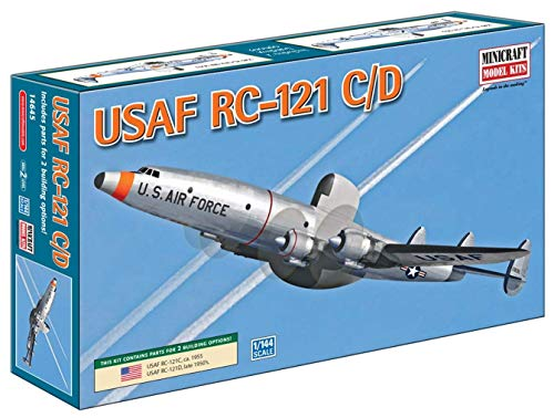 (Minicraft RC-121C/D USAF 1/144 Scale with 2 Marking Options)