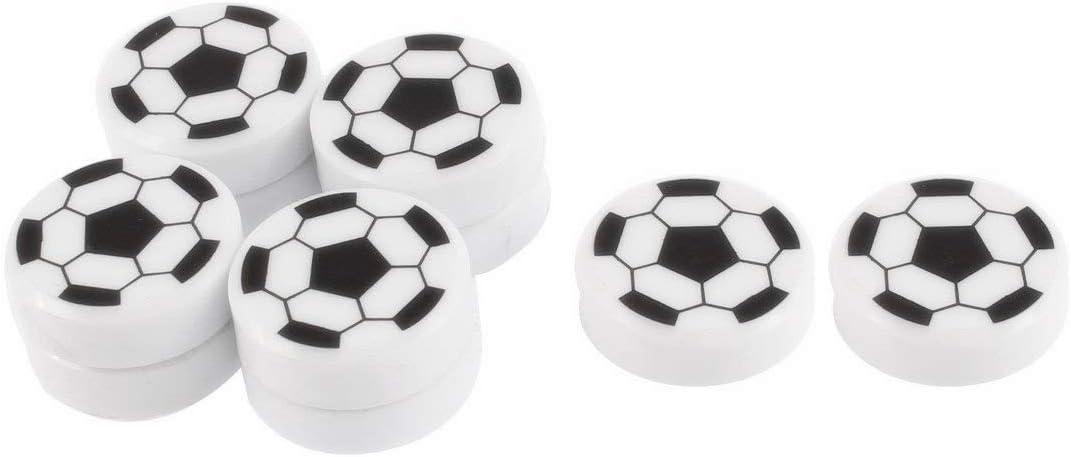 XMHF Football Shape Magnetic Sticker Round Soccer Refrigerator Whiteboard Fridge Magnet 10pcs