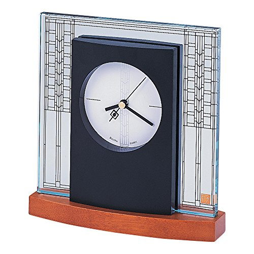 Bulova Glasner House Frank Lloyd Wright Clock