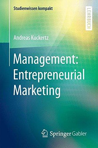 Management: Entrepreneurial Marketing (Studienwissen kompakt)