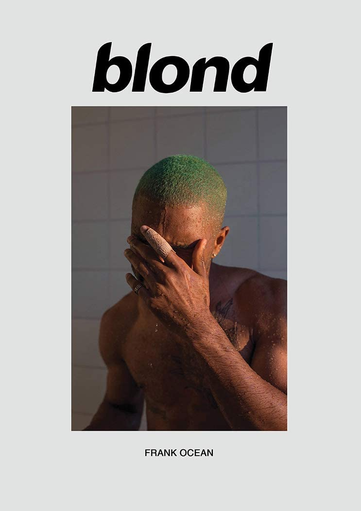 "Kopoo Frank Ocean Blond Art Fabric Poster Wall Decor HD Print, 16"" x 24"" (40 x 60 cm)"