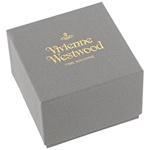 Vivienne Westwood Men's VV118BKBK Barbican Analog Display Swiss Quartz Black Watch