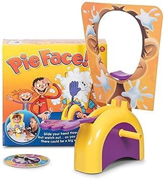 DeliaWinterfel Juego Pie Face! Cara Splash! Juego de Reflejos, para 2 o más Jugadores, Diversión para Todos. El éxito de Internet by: Amazon.es: Juguetes y juegos