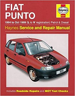 Fiat Punto Petrol & Diesel 94 - Oct 99 L To V Haynes Service and Repair Manuals: Amazon.es: Haynes Publishing: Libros en idiomas extranjeros