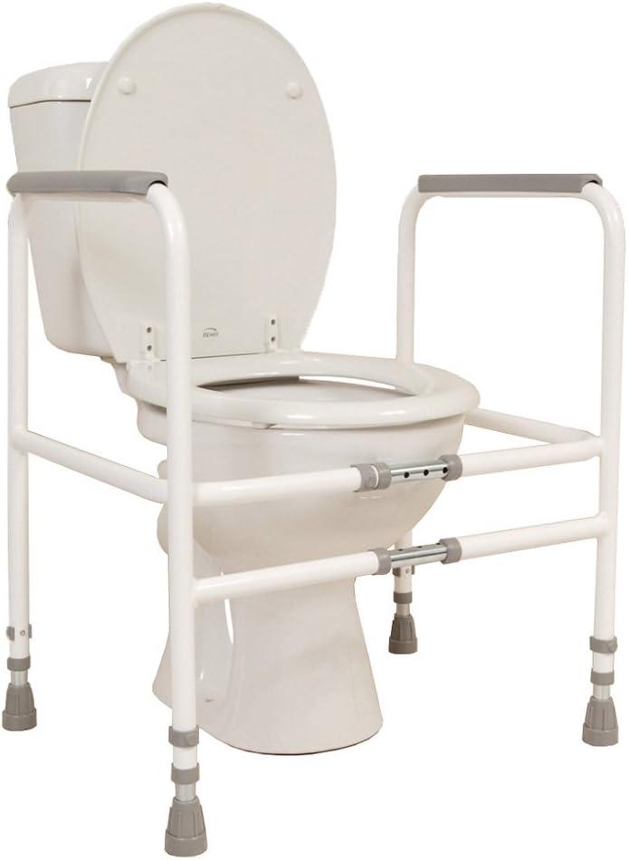 NRS Healthcare Width Adjustable Toilet Frame