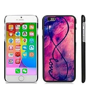 GX elegante de plástico duro con dibujos complemento en caso de iPhone 6 Plus