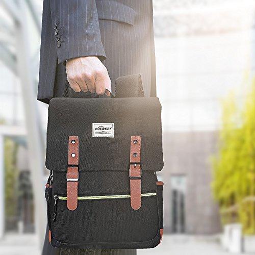 À Puersit Femmes College Et Durable By Portable ,convient Pouce Ac Business noir Ordinateur Homme Daypacks A Photo Dos Zebella 15 S Noir 8Ia7qng