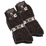 4 paires de chaussettes de Norweger très chaud, de Cottonprime® - Anthracite - Taille 43-46 4