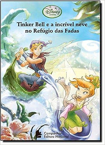 Tinker Bell E A Incrivel Neve No Refugio Das Fadas Em Portuguese