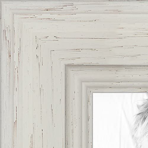 ArtToFrames 19x27 inch Off White Stain on Solid Wood Wood Picture ...