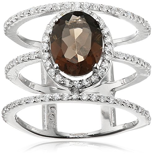 Sterling Silver Citrine Gem Ring product image