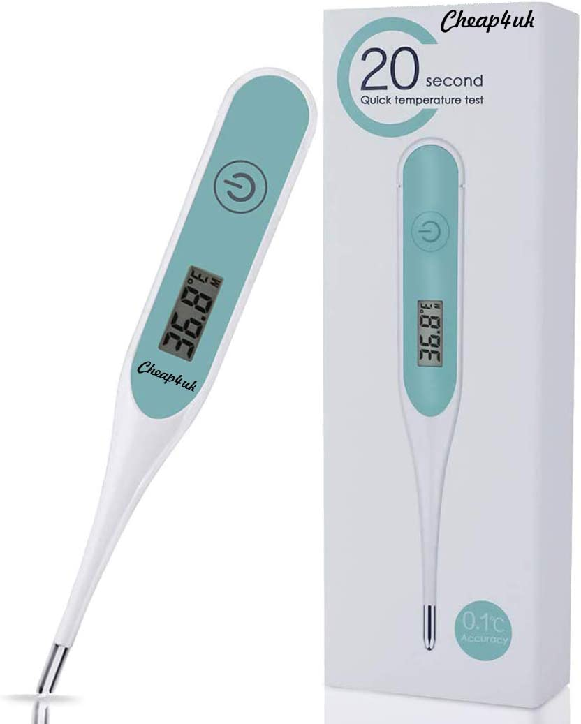 Digital Body Thermometer Thermometer Fast Read Temperature Meter Adults or Kids