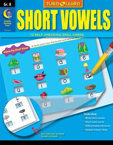 Short Vowels, Turn & Learn Gr. K