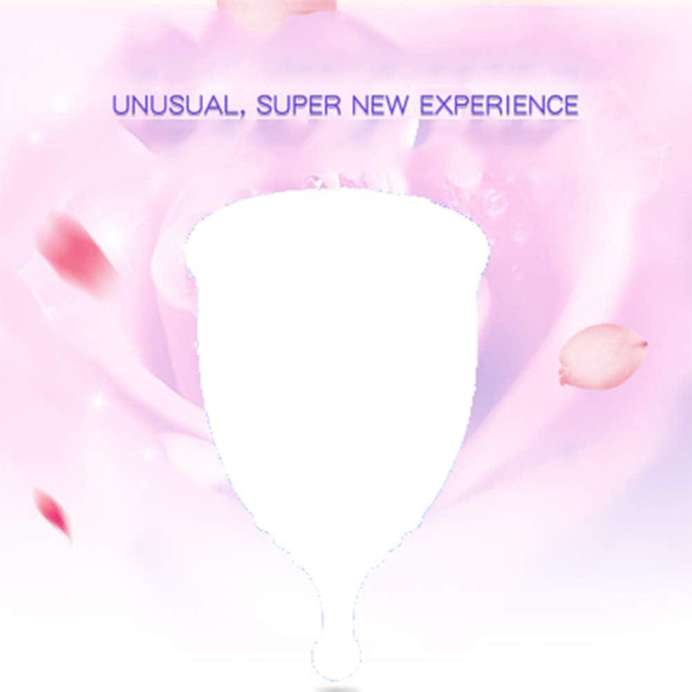 Copa menstrual de higiene con diseño de luna, alternativa a ...