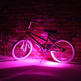 Bike Brightz LED Bicycle Safety Light Lightweight Fashion Accessory (Pink) by Unknown