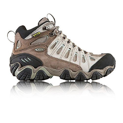 Oboz Women's Sawtooth Mid BDRY Hiking Boot,Iceburg,7.5 M US by Oboz