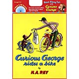 Curious George Rides a Bike Book & CD
