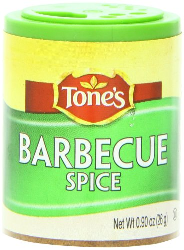 Tone's Mini's Barbecue Spice, 0.90 Ounce (Pack of 6) ()