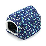 OCSOSO Portable Dog Sweet House – Soft, warm and comfortable Waterproof Pet Bed (S)