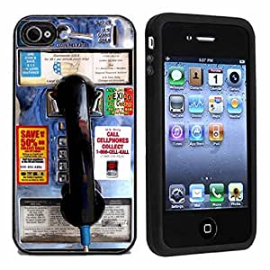 amazon phone cases for iphone 4 pay phone cover for iphone 4 or 4s by 18284
