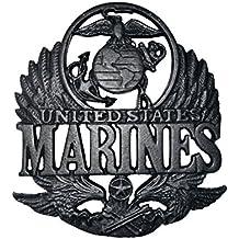 Military United States Marine Corp Metal Cast Iron Wall Art Memorabilia Decor