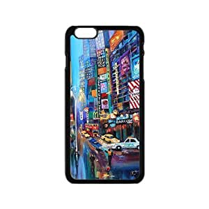 Classic Style Custom TPU Hard Rubber Case for iPhone6(4.7inch) - Broadway by mcsharks
