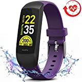 MorePro HRV Fitness Tracker with Heart Rate Blood Oxygen Saturation Monitor SpO2, Waterproof