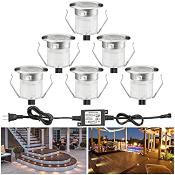Fvtled Led Deck Lights Kits Includes All Wires And Plug In