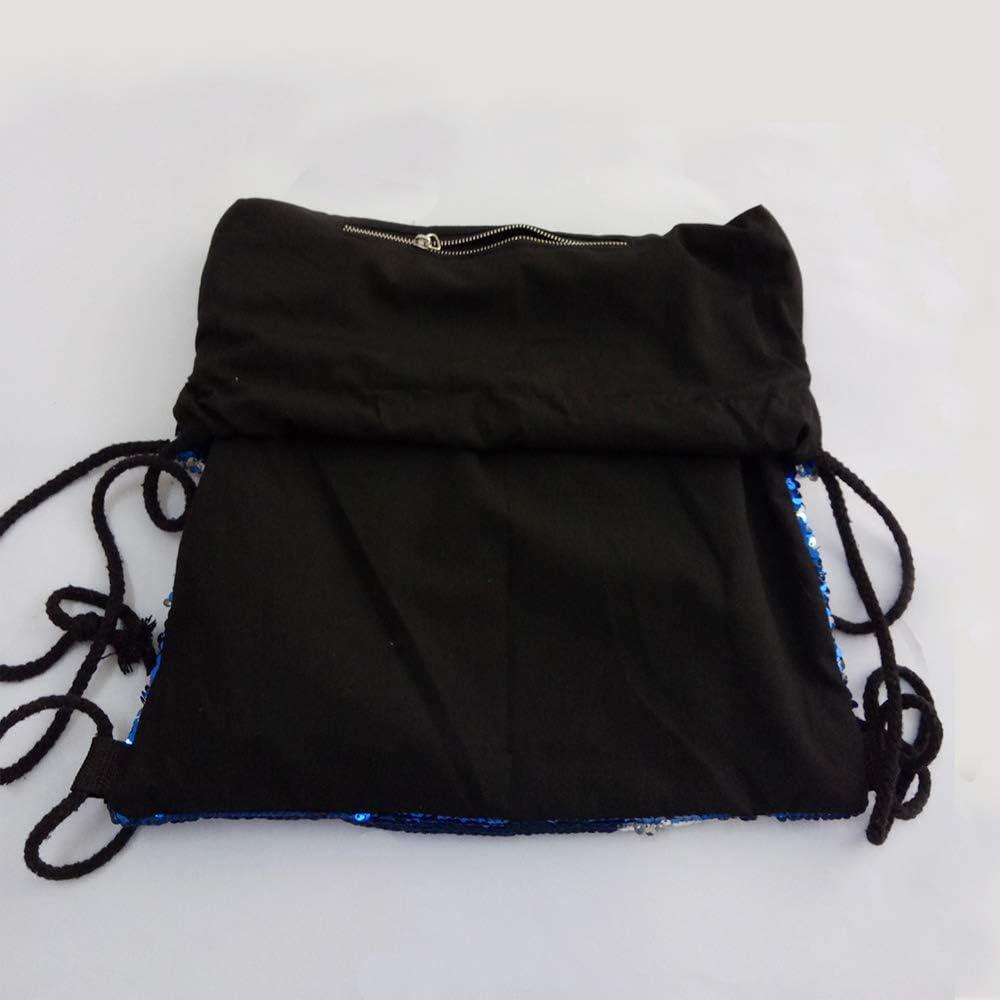 Winmany Mermaid Sequin Backpack Glittering Outdoor Shoulder Bag